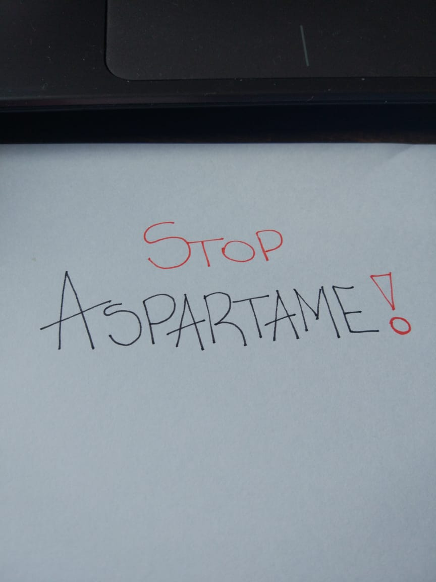Pare de consumir aspartame